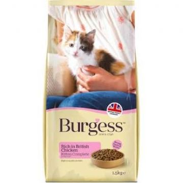 Burgess Kitten Complete Chicken 1.5Kg